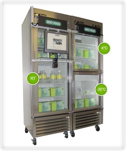 Supply Center Refrigerator