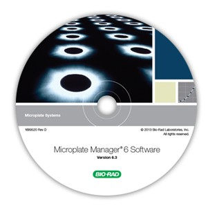 Microplate Manager software for protein and DNA quantifications