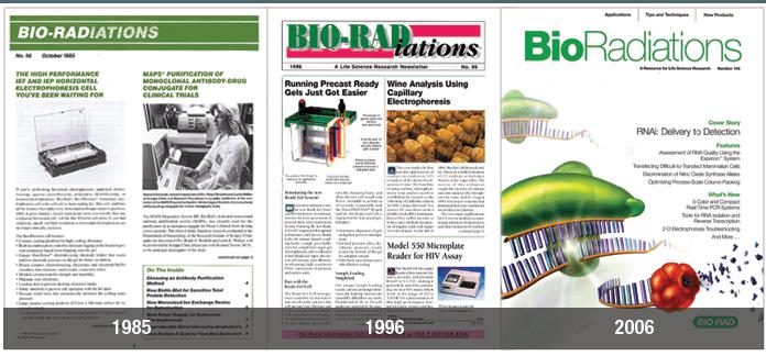 Bioradiations evolution over 3 decades image